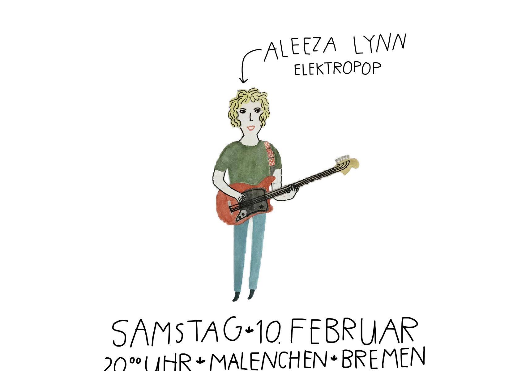Plakat Aleeza Malenchen